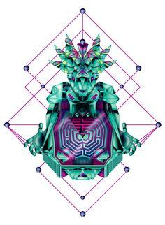 Maze by Amrei Hofstätter  http://on.be.net/1coPzJX