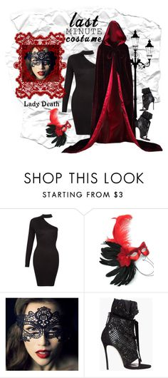 """""""Lady Death Costume - last min"""" by groove-muffin ❤ liked on Polyvore featuring Masquerade and Dsquared2"""