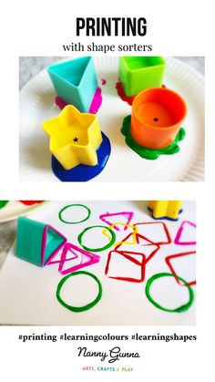 Printing with shape sorters