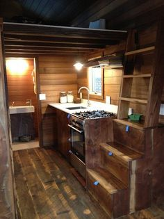Cider Box Tiny House | 17 Tiny Houses That Will Make You Swoon | Small House Ideas by Pioneer Settler at http://pioneersettler.com/tiny-houses/