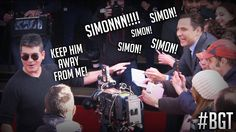 Simon Cowell and David Walliams. Britain's Got Talent Funny Pics, Funny Pictures, Hilarious, Merrick Hanna, Funny Things, Funny Stuff, I Love Simon, Britain's Got Talent, Stand Up Comedians