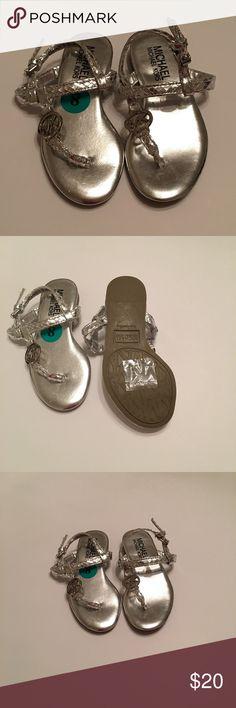 NWOT MICHAEL Michael Kors Toddler Sandals Size: 8 NWOT MICHAEL Michael Kors Toddler Sandals Size: 8 Smoke Free & Pet Free Home MICHAEL Michael Kors Shoes Sandals & Flip Flops
