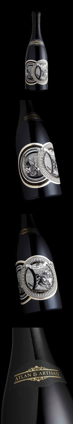 Epistem Wine by Stranger & Stranger (Square Bottle Design)