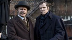 Detective Sherlock Holmes and Dr. John Watson join forces to investigate a murder at Buckingham Palace. They soon learn that they have only four days to solve the case, or the queen will become the next victim. Latest Movies, New Movies, Good Movies, Movies Online, Movies To Watch, Will Ferrell, John Watson, Joel Mchale, Mark Gatiss