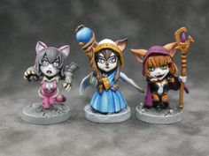 Aella's Co-Op Project paintings - (SDE) Super Dungeon Explore's miniatures