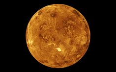 Among all of our neighbors, Venus might be the weirdest. Now that scientists are able to peer through the planet's atmosphere, they've discovered some strange anomalies about its rotation that have only added to Venus' mystique. Planeta Venus, Venus In Aries, Roman Goddess Of Love, Greenhouse Effect, Planets Wallpaper, Planetary Science, Nasa Planets, Shiga, Space Photos