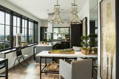 HGTV Fresh Faces of Design - Big City Digs: Sophisticated New York Condo by Michael Dawkins >> http://www.hgtv.com/design/fresh-faces-of-design/2015/big-city-digs?soc=pinterest