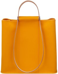 Hermes Cabag Twist in Yellow | Lyst