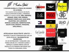 Contamos con las mejores firmas del mercado internacional Unete a mi equipo  http://www.1fashionglobal.net/sevando/