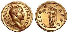 Imperial Rome AV Aureus ND Rome Mint Severus Alexander 222-235AD