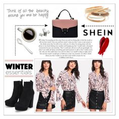 """""""Shein #1"""" by dz-eminaa ❤ liked on Polyvore featuring Fortessa and Balmain"""