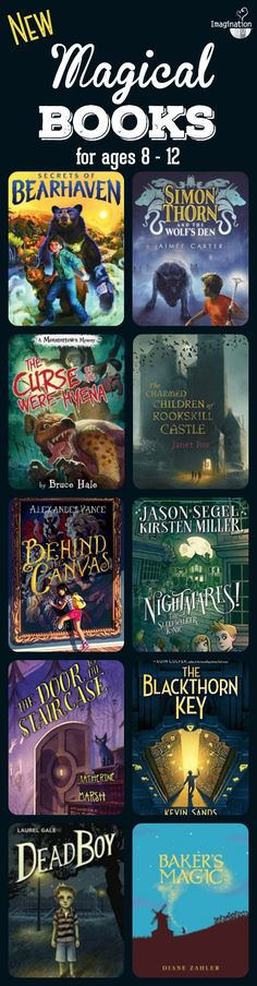 10 new magical books for middle grade readers ages 8 to 12