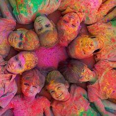 Holi kids- India