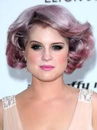 Image result for cheveux mauve
