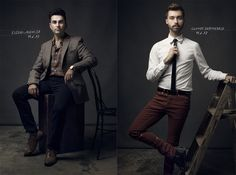 Lighting Like Leibovitz–The One Light Challenge Clay Cook Fstoppers Oliphant Portraits 710x527 Lighting Like Leibovitz – The One Light Chall...