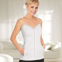 Mastectomy Camisoles & Tank Tops - Breast Cancer Patients - TLC Direct