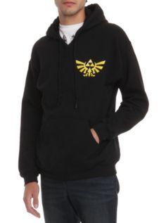 Zelda triforce hoodie