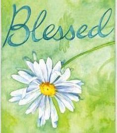Blessed with a daisy Scripture Art, Bible Art, Bible Quotes, Scripture Painting, Scripture Images, Biblical Quotes, Painting Canvas, Faith Quotes, Lucas 1 45