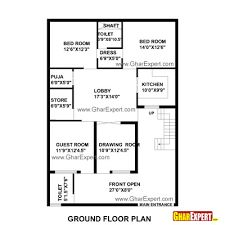 House plan for 35 feet by 48 feet plot plot size 187 for Plot plan drawing software