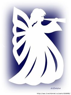 Clay Crafts, Felt Crafts, Paper Crafts, Christmas Angels, Christmas Art, Stencils, Angel Theme, Kirigami, Angel Images