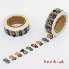 Washi Tape pequeños superhéroes