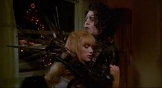 Screencap Gallery for Edward Scissorhands Bluray, Drama, Fantasy, Romance). In a castle high on top of a hill lives an inventor's greatest creation - Edward, a near-complete person. Eduardo Scissorhands, Edward Scissorhands Movie, Scissors Hand, 1990 Movies, Lgbt, 21 Jump Street, Film Aesthetic, West Side Story, Film Serie