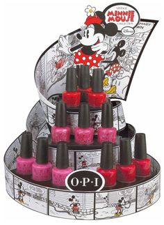 OPI Minnie Mouse Collection. No doubt we will be purchasing, for Lila, of course ;)