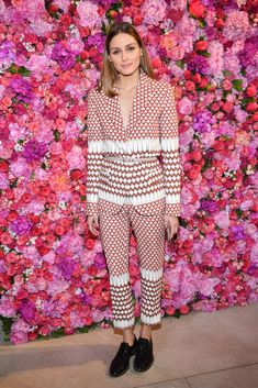 PARIS, FRANCE - JULY 02: Olivia Palermo attends the Schiaparelli Haute Couture Fall/Winter 2018-2019 show as part of Haute Couture Paris Fashion Week on July 2, 2018 in Paris, France. (Photo by Stephane Cardinale - Corbis/Corbis via Getty Images)