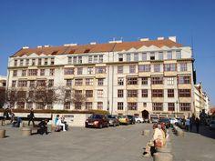 Otokar Novotny Wohnhausblock, Prag 1919-1921