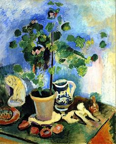 Still LIfe with a Geranium Henri Matisse - 1906
