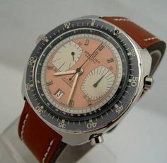 1960's vintage Breitling Chronograph.  Every time I claim I'm not a fan of a particular watch brand, I run across a model that makes me question why.