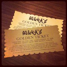 No 34 willy wonka golden ticket birthday by modernmoments on etsy golden ticket birthday invitations 2995 via etsy filmwisefo