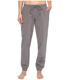 Life is good Beachy Jogger (Slate Gray) Women's Casual Pants