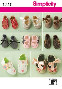 Simplicity baby shoe patterns