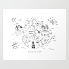 neverland, peter pan, wendy, lost boys...