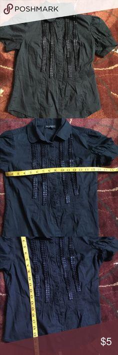 Peter Pan collard blouse 🌿 Behnaz Sarafpour for Target. Peter Pan collard,  puffed short bab1867fda