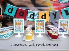 Who's Your Daddy Party #fathersday #party