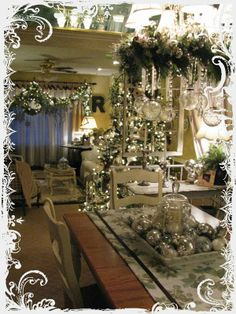 **My Desert Cottage**: Christmas Home Tour Christmas Projects, Christmas Home, Cottage Christmas, Christmas Holidays, White Christmas, Christmas Mantels, Christmas Ideas, Merry Christmas, French Country Christmas