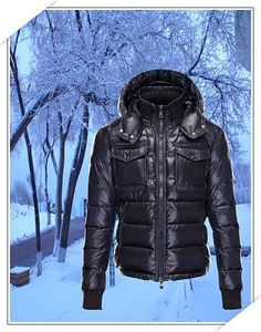 Winter Jackets For Cheap Moncler Outlet Men - 5 Winter Coats You Should Own - Men Style Fashion Black.