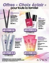 Avon Brochure   Offres « Choix éclair » pour février