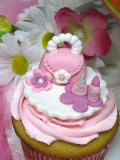 Mini cupcake topper!
