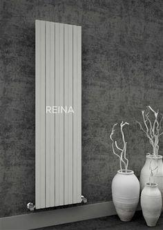 Order this Reina Bova Double Panel Aluminium Vertical Designer Radiator today from Only Radiators at a great price, top Customer Care & Free UK Delivery Wall Radiators, Black Radiators, Bathroom Radiators, Column Radiators, Cast Iron Radiators, Horizontal Designer Radiators, Vertical Radiators, Kitchen Radiator, Full Bath