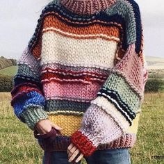 The Effective Pictures We Offer You About stricken deutsch A quality picture can tell you many thing Mode Gipsy, Pretty Outfits, Cool Outfits, Pretty Clothes, Knitting Blogs, Mode Vintage, Knit Fashion, Pulls, Diy Clothes