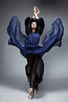 Diana Vishneva, Russian ballet dancer. Photo by Danil Golovkin.