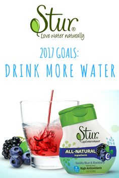 Stur is the leading all-natural drink mix -It can help anyone to drink more water! Try a 5 bottle variety pack, which makes 100+ delicious 8 oz drinks, for only $20 on Amazon. Our products are made from only the best natural fruit and stevia extracts - and never contain any artificial flavors, colors or sweeteners. WILL YOU ENJOY STUR? ----- My family and I guarantee it, or we'll happily refund your purchase.