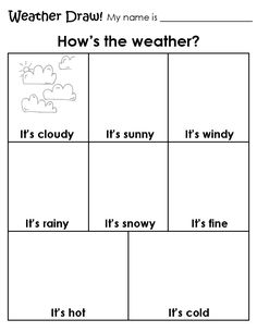 CARPETA DEL MAESTRO: HOW´S THE WEATHER?