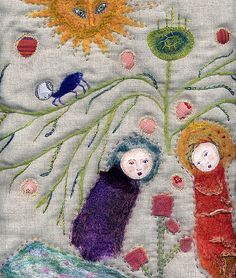 Embroidery by Sara Lechner