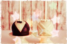 Wedding Cake Pops tutorial with a little instagram style :) by niner bakes, via Flickr