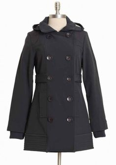 wuthering seasons charcoal coat by Three Stones
