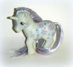 G1 Shimmersnow My Little Pony Custom Snowflake Winter